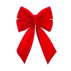 """12"""" STRUCTURAL BOW WITH RED VELVET"""