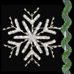 ENHANCED DELUXE FORKED SNOWFLAKE