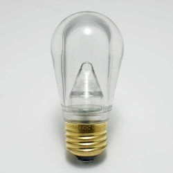 S14 LED SMOOTH PLASTIC LAMPS