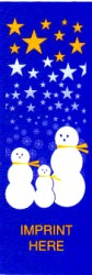 SNOWMAN FAMILY AND STARS