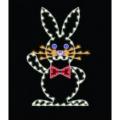 5' SILHOUETTE EASTER RABBIT