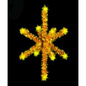 3 1/2', 3-D STAR TREE TOPPER