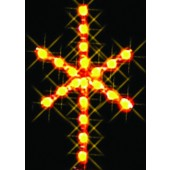 2 1/2', 2-D SILHOUETTE STAR TREE TOPPER