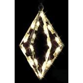 "18"" DIAMOND ORNAMENT"
