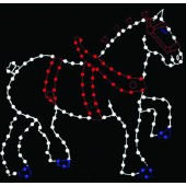 9' CLYDESDALE HORSE