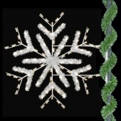 ENHANCED DELUXE FORKED SNOWFLAKE - SAMPLE