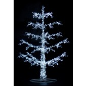 8' Upswept Ice Tree