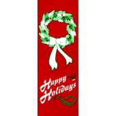 HAPPY HOLIDAYS WITH WREATH