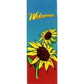 WELCOME WITH SUNFLOWERS