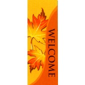 WELCOME WITH LEAVES