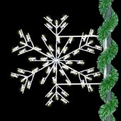 DELUXE FORKED SNOWFLAKE - SAMPLE