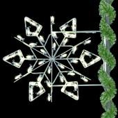 3' WINTERFEST DIAMOND SNOWFLAKE