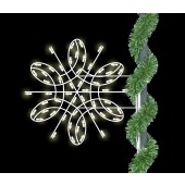 3' DELUXE SPIRAL SNOWFLAKE