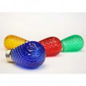 S14 LED FACETED PLASTIC LAMPS