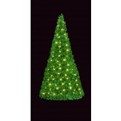 """MOUNTAIN PINE SPIRAL """"POPUP"""", WIDE BASE TREES"""