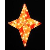 3' 3D NATIVITY STAR TREE TOPPER