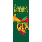 FRENCH HORN WITH SEASON'S GREETINGS